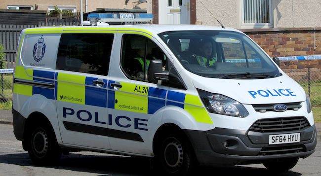 Three men arrested following discovery in Newtongrange