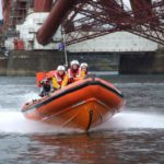 RNLI South Queensferry launched to yacht which ran aground