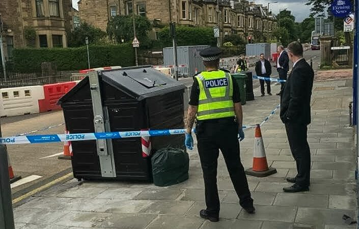 Investigation launched after contents of bin cause concern
