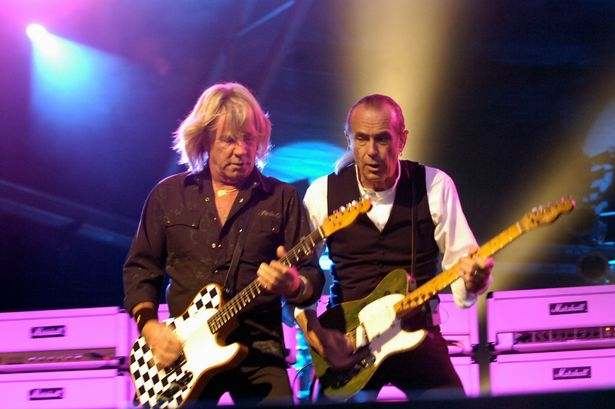 Status Quo set to rock Ingliston this month