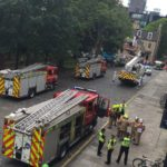 "Multi-agency response to ""False alarm"" at Edinburgh University building"