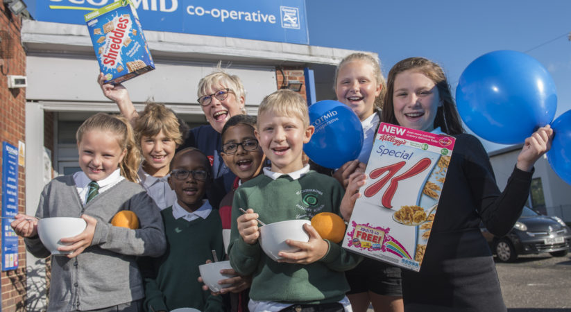 Scotmid serves up breakfast at St Catherine's Primary School