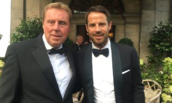 Harry and Jamie Redknapp attend the Spartans dinner