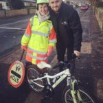 Lollipop lady surprised with new bike after thieves strike