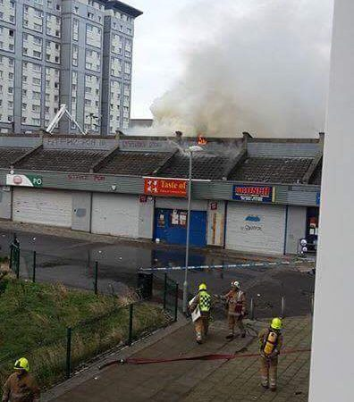 Fire breaks out at Chinese take away in the calders