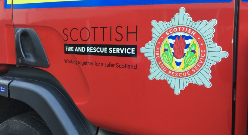 Man and dog rescued after becoming cut off from dry land at Gypsy Brae