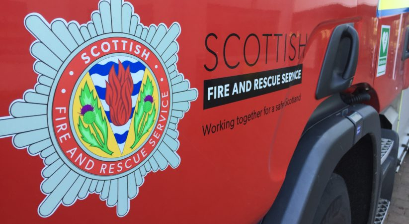 Man in serious condition following Wardlaw Street fire