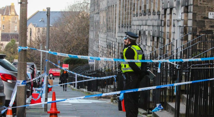 BREAKING: Investigation launched after suspicious death in Scotland Street