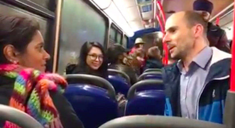 VIDEO: Wedding proposal on Lothian Bus