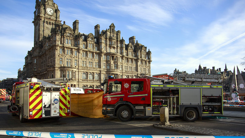 Police appeal following Princes Street collision