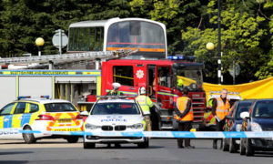 Woman dies following collision with bus in Davidson's Mains
