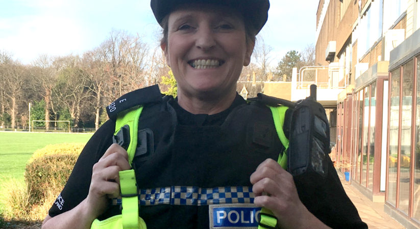 Edinburgh police officer picks up top award