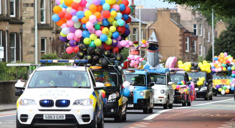 Annual Edinburgh Taxi outing in pictures