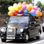Kids take part in today's Edinburgh Taxi Trade outing