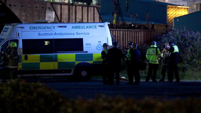 Man dies after entering water near Ocean Terminal last night
