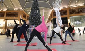 Free Yoga sessions for Black Friday shoppers in Livingston
