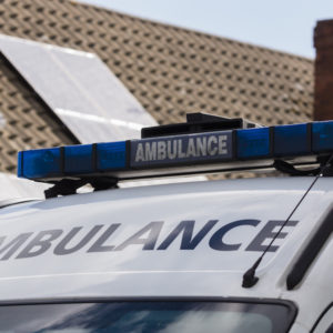 Controlled drugs stolen from Ambulance crew attending emergency call