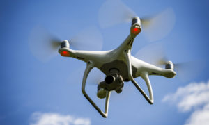 Man charged after flying drone over city centre