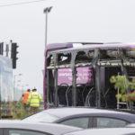 Tram derailed following collision with bus near Edinburgh Airport