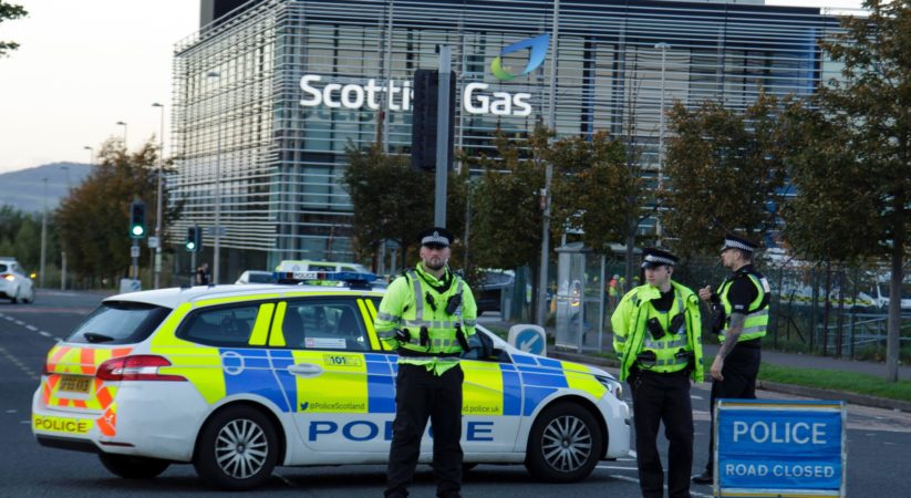 Three people have been taken to hospital following a suspected chemical leak