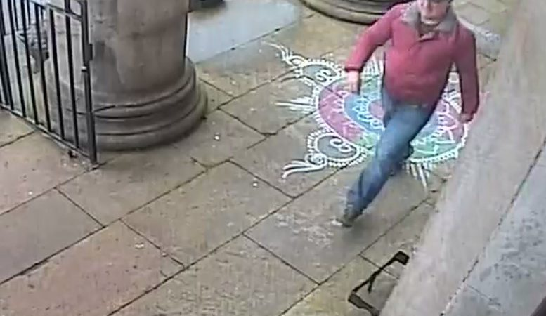 CCTV appeal after theft from Hindu Mandir Cultural Centre donation box
