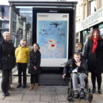 School pupils Christmas card designs brighten up Princes Street