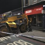Police appeal for witnesses after digger strikes shop in Chesser
