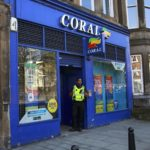 Man armed with knife robs north Edinburgh bookmakers