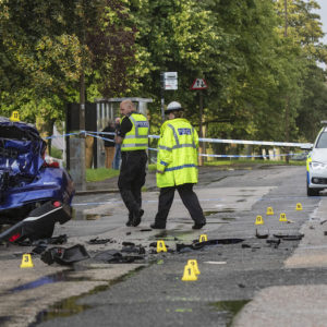 'Stolen motorbike' involved in Muirhouse collision